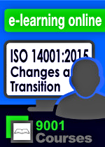 ISO 14001:2015 Changes and Transition